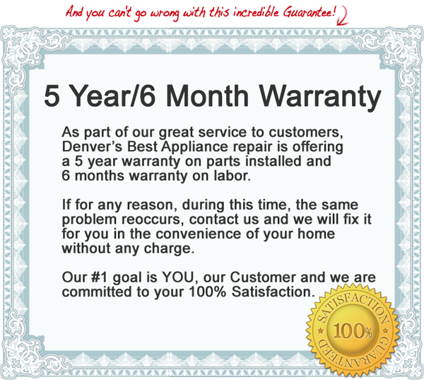 appliance-repair-guarantee-denver